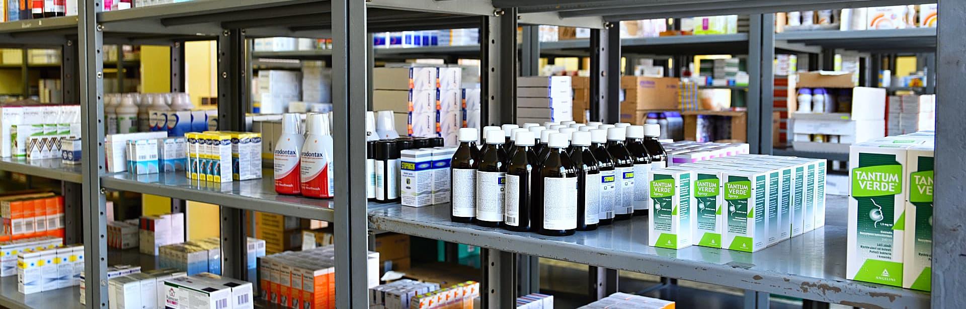 medicines and vials