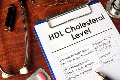 HDL cholesterol level
